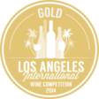 médaille or Los Angeles International Wine & Spirits Competition 2014