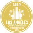 Médaille or - Los Angeles International Wine & Spirits Awards