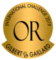 médaille or - 2019 Gilbert & Gaillard International Challenge