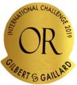 médaille or Gilbert & Gaillard International Challenge 2019