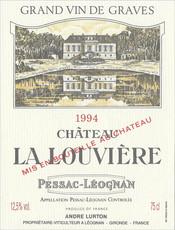 1994 ch teau la louvi re blanc nos vins nos vins accueil les vignobles andr lurton. Black Bedroom Furniture Sets. Home Design Ideas